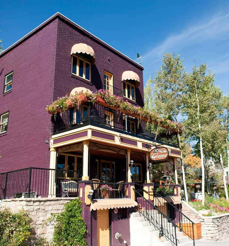 Grappa Italian Cafe Park City Utah