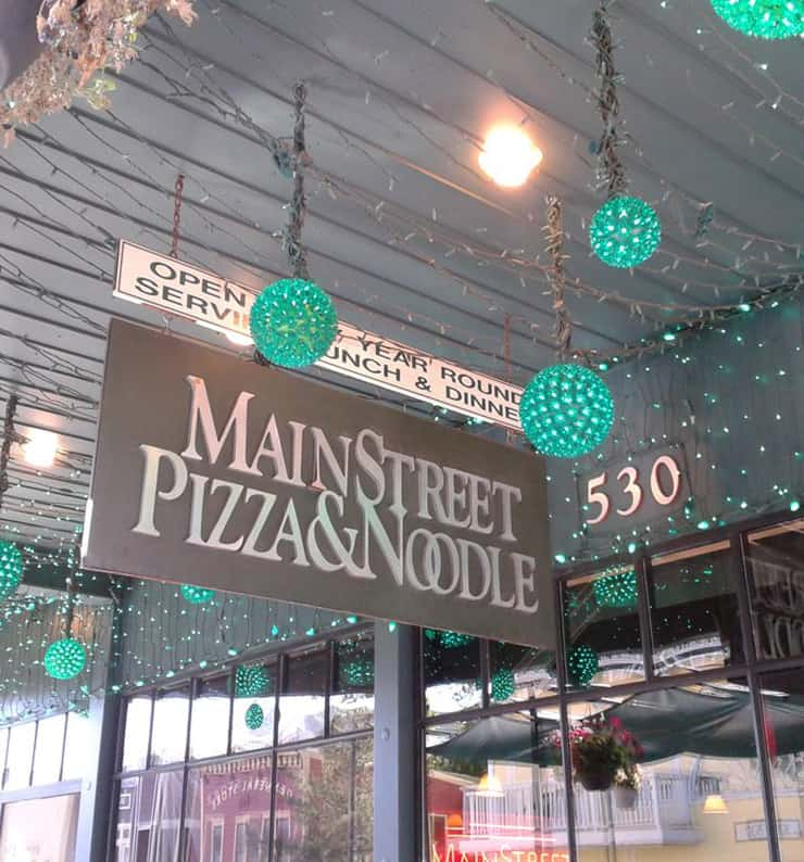 Main Street Pizza & Noodle