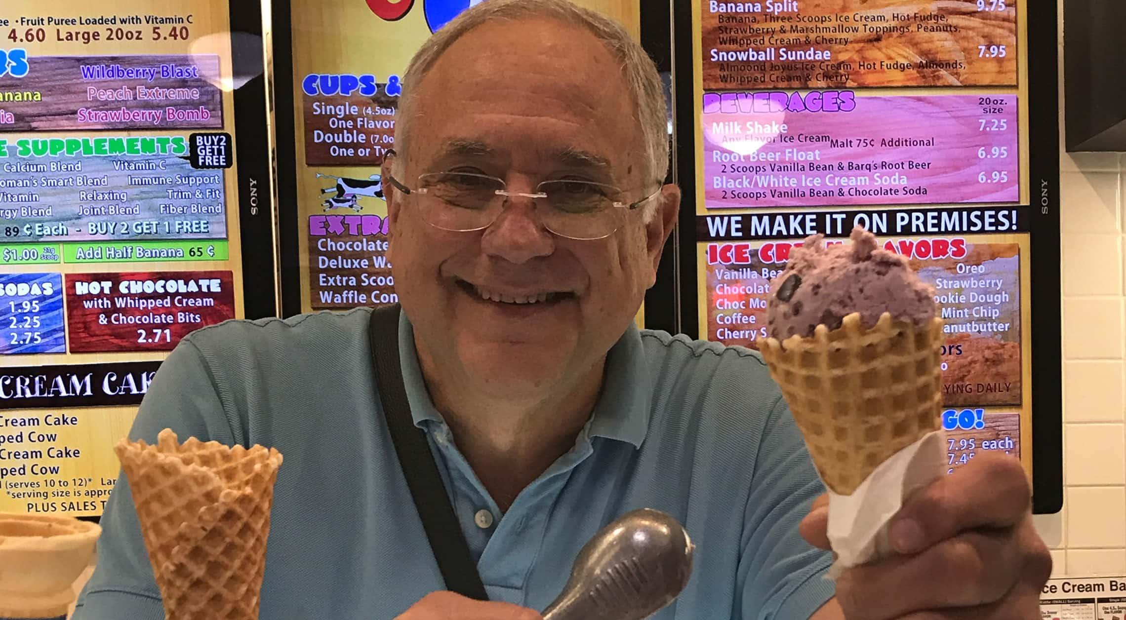 Meet the Merchant: Ken Davis from Java Cow Creamery, Café and Bakery
