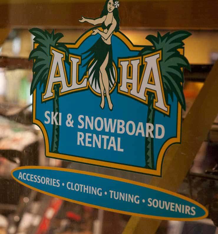 Aloha Ski and Snowboard Rentals