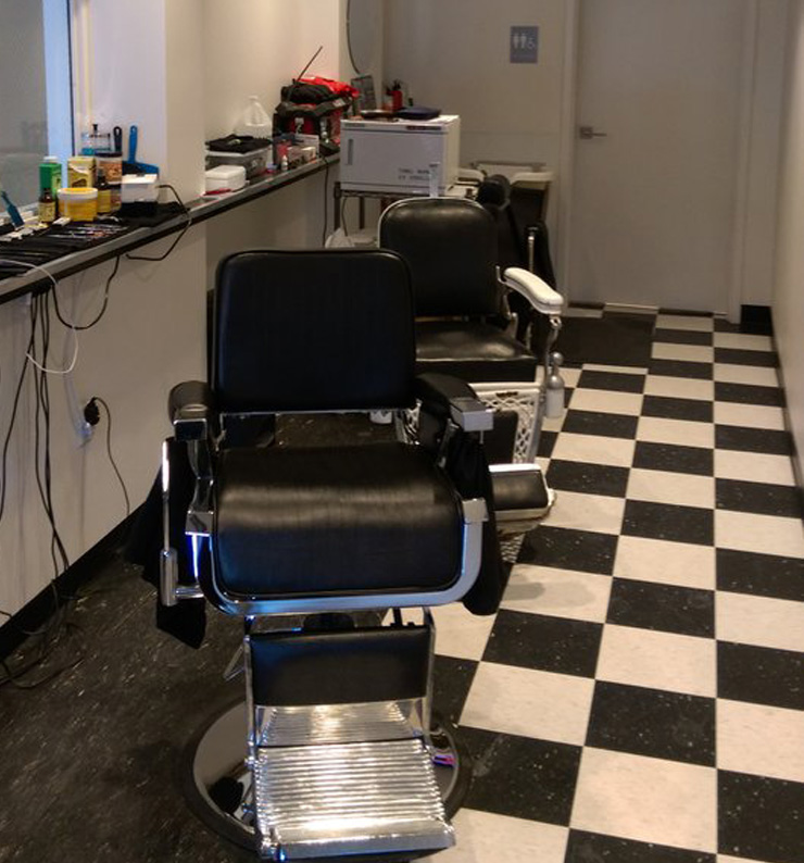 Electric Chair Barber Shop