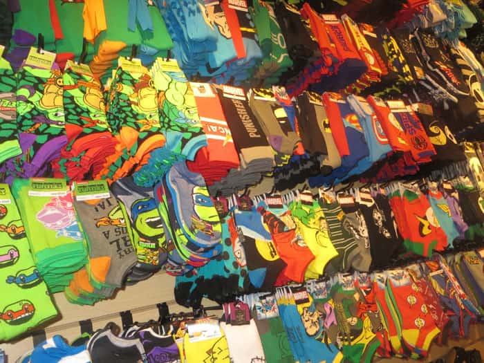 Holiday Shopping Sock City