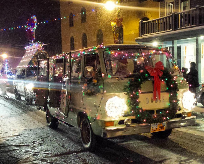 Dodge Van Electric Parade